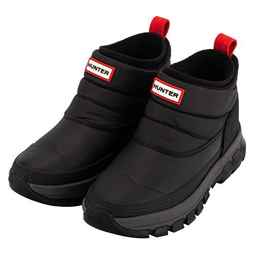 [Hunter] ハンター ブーツ レディース オリジナル インシュレイティド アンクル スノーブーツ 防水 防寒 WFS2107WWU ブラック Women's Original Insulated Ankle Snow Boots BLACK [並行輸