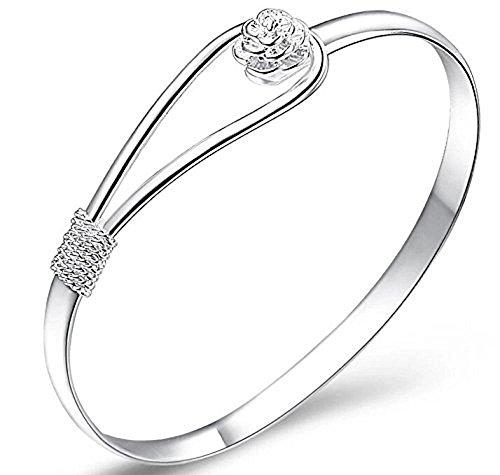 Snner shifashionshop dames sieraden zilveren ketting armband armbanden armbanden