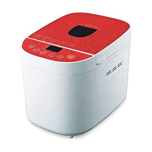 DHTOMC Máquina de Pan automático Romántico Rose Rojo Cubierta de Cristal Rojo Máquina de Pan DIY Aspecto Simple Xping