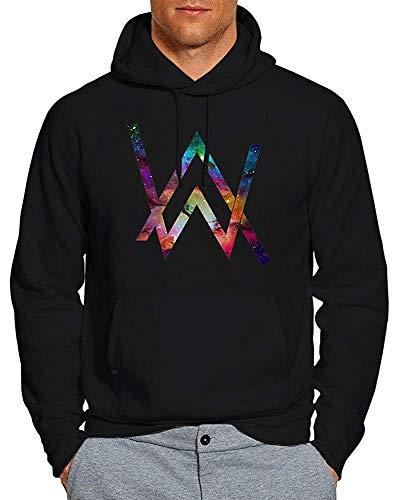 PMQ Alan Walker Galaxy Nebula Hoodie Pullover Unisex Sweatshirt