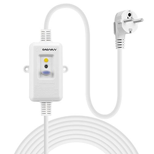 OAONAN Fehlerstrom Schutzeinrichtungen Personenschutz Stecker mit Verlängerung Kabel 1.5m 220-240VAC 16Amp