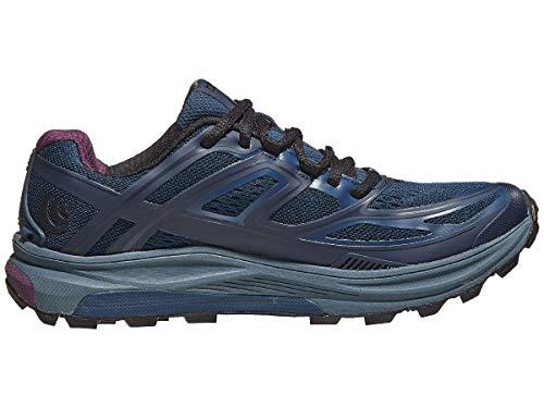 Topo Athletic Ultraventure Trail Running Shoe - Women's Navy/Plum 8