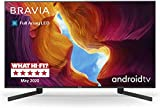 Abbildung Sony KD-75XH9505 Bravia 189 cm ( 75 Zoll) Fernseher (Android TV, LED, 4K Ultra HD (UHD), High Dynamic Range (HDR), Smart TV, Sprachfernbedienung, 2020 Modell), Schwarz