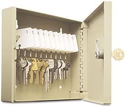 """SteelMaster 201901003 Uni-Tag Key Cabinet, 10-Key, Steel, Sand, 6 7/8"""" x 2"""" x 6 3/4"""""""