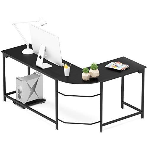 Hago Modern L-Shaped Corner Computer Desk