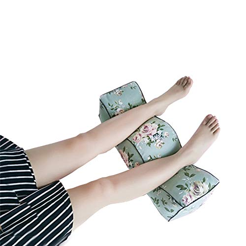 MGWA pillows Pregnant Women Step Foot Pillow Lift Foot Pillow Leg Pillow Slow Rebound Lift High Leg Pad Clip Leg Pillow Beauty Salon Foot Pillow Rectangular Shape Green