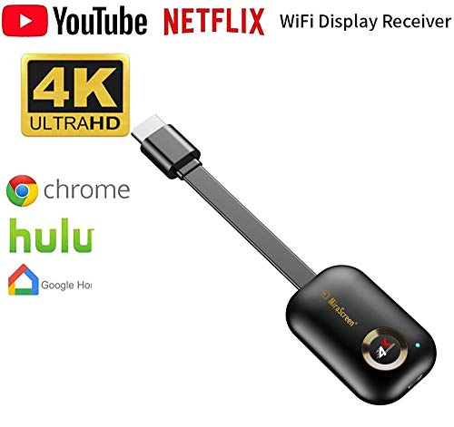 Wifi Display Dongle, 2.4G Wireless HDMI Adapter TV Stick Media Streaming Player Dongle Voor Iphone Mac Ios Android Naar TV Projector (4K)
