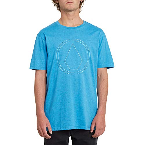Volcom Herren PinnerHTH SS T-Shirt, True Blue, M