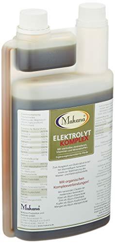 Makana Elektrolyt KOMPLEX flüssig (mit Lysin, Methionin und Zink), 1000 ml Dosierflasche (1 x 1 l)