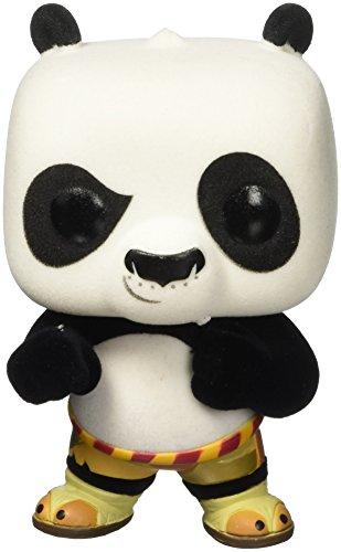 Funko 6002–Kung Fu Panda, Figura de Vinilo Pop, 250Po, Flocado, 9cm