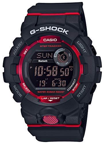 [カシオ] 腕時計 ジーショック 歩数計測 Bluetooth 搭載 GBD-800-1JF メンズ ブラック