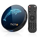 TICTID Android TV Box 10.0 D1 Plus【4G+32G】 RK3318 Quad-Core 64bit WiFi-Dual 5G/2.4G,BT...