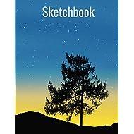 Sketchbook: For Drawing, Doodling, And Sketching. Artwork Journal For Artists