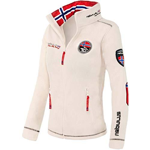 Nebulus Explore Veste de Sport Femme, Blanc, FR (Taille Fabricant : XL)