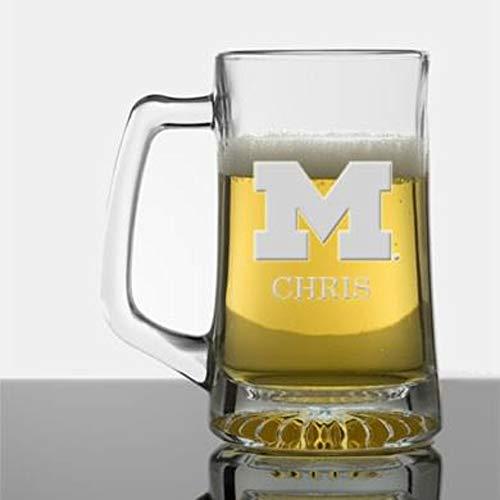 M. LA HART Michigan 25 oz Glass Stein