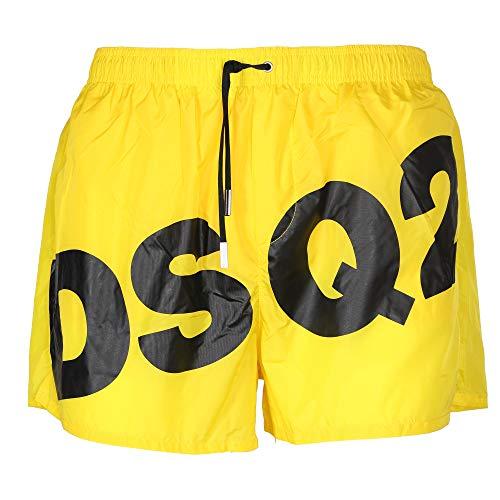 DSquared Christian-Kostüm Boxer Herren D7B642890 Gelb - Fünfzig