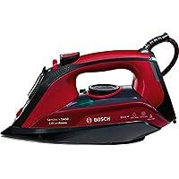 Bosch TDA503001P Sensixx DA50, Plancha de Vapor, 3000 W, Color Rojo