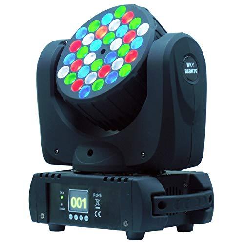 Led haz móvil, Led lavado de lavado, 36x3w RGBW Led luz, uso para discoteca, salón de baile, KTV, Bar, Club, fiesta, boda
