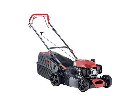 AL-KO Benzin-Rasenmäher Comfort 42.1 SP-A (42 cm Schnittbreite, 1.9 kW Motorleistung, robustes Stahlblechgehäuse, Hinterradantrieb, Mulchfunktion, für Rasenflächen bis 800 m²)