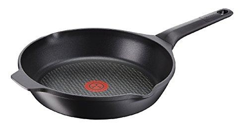Tefal e2150334 gietijzeren pan, aluminium, zwart, 22 cm
