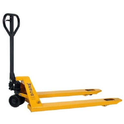 Wesco Industrial Products 272149 Economizer Pallet Truck with Handle, Polyurethane Wheels, 4400 lb....