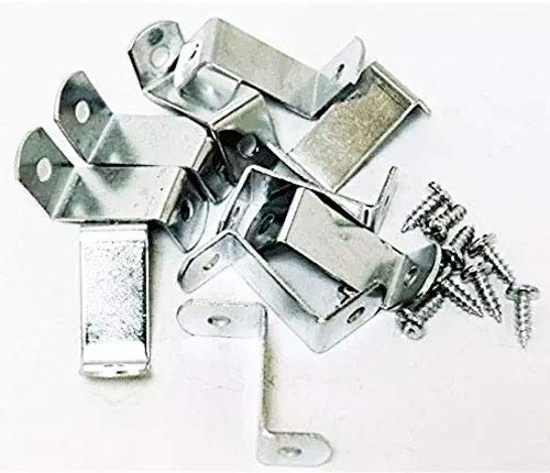 """1"""" Canvas Offset Clips Extra Heavy Duty with Screws 20 Pack"""