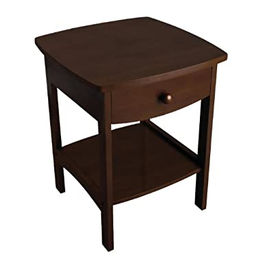 Winsome Wood Accent Table, Walnut