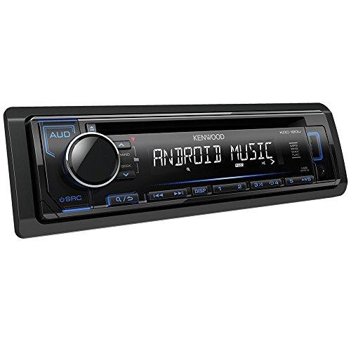 Kenwood KDC-120UB CD-Receiver mit frontseitigem USB/AUX-Eingang schwarz