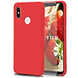 Feyten Xiaomi Mi 8 Case [with Free Tempered Screen