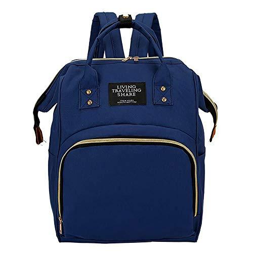 Mochila Bolsa Saída Maternidade Gestante Nova Multifunção Yepp Bags (azul)