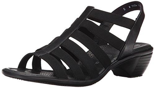 ARA Women's Peony Dress Sandal, Black, 5.5 M US