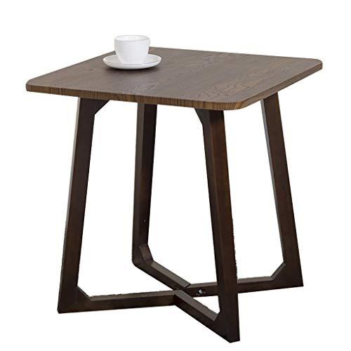 CAIM Massief houten salontafel met kleine ruimte tafel veranda aan de zijkant tafel restaurant tafel meubels decoratie kleine ruimte