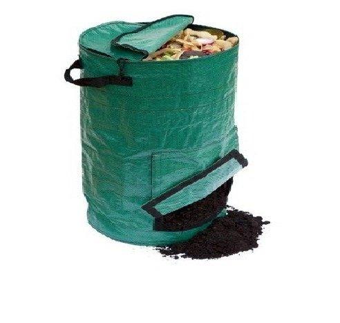 Contenitore per compost giardino ADIACC095T-A COMPOST, 265 L