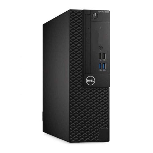Windows 10 Dell 3050 SFF Intel Core i3-6100 Desktop PC Computer - 8GB DDR3-256B SSD - 300Mbps WI-FI (Renewed)