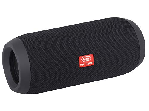 Trevi XR JUMP XR 84 PLUS Altoparlante Speaker Amplificato con Mp3, USB, Micro-SD, AUX-IN, Bluetooth, Batteria Ricaricabile, Nero