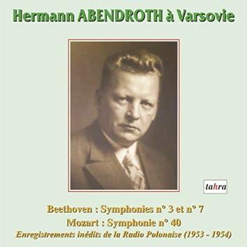 Hermann Abendroth à Varsovie