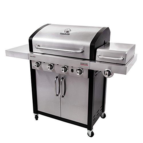 Char-Broil Signature TRU-Infrared 525 4-Burner Cabinet Liquid Propane Gas Grill