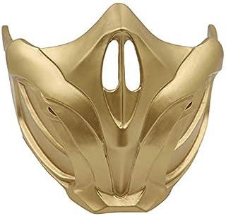 Horror Masks Mortal Kombat Resin Masks Scorpion Face Sub-Zero Mask Masker Unisex Halloween Props (Color : B)