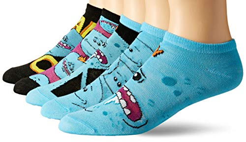 Rick And Morty Mr. Meeseeks 5 Pack Ankle Socks