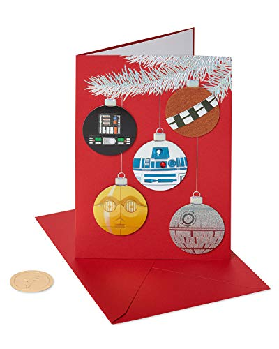 Papyrus Christmas Cards Boxed, Star Wars Holiday Ornaments (8-Count)