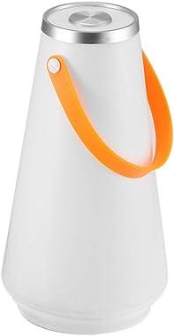 Belle portable LED sans fil Accueil Veilleuse Lampe de table USB rechargeable tactile Interrupteur extérieur Camping Gyrophar