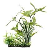 LOVIVER Terrarienpflanze Künstlich Terrarium Pflanze für Reptilien und Amphibien -