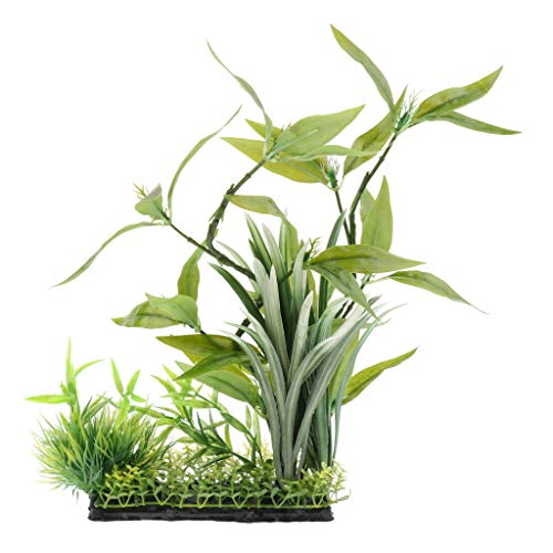 LOVIVER Terrarienpflanze Künstlich Terrarium Pflanze für Reptilien und Amphibien - Typ 2
