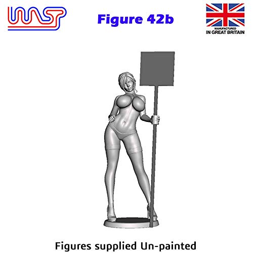 Trackside Figure Scenery Display No 42b New 1:32 Scale WASP