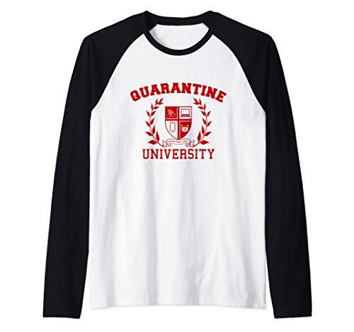 Quarantine University Raglan Baseball Tee