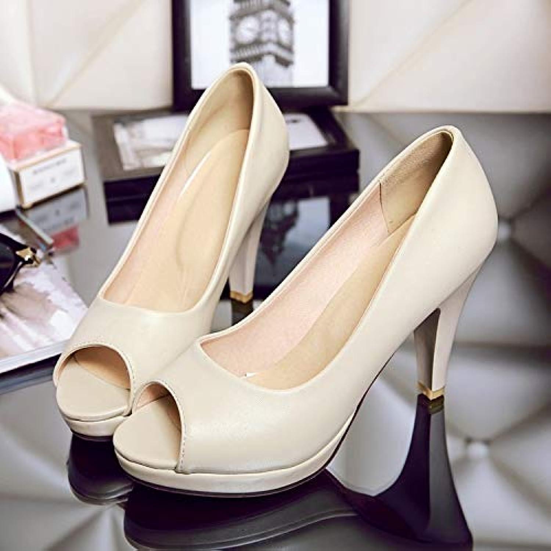 MENGLTX High Heels Sandalen Sandalen Frauen Big Plus Größe Schuhe Frauen Sandalen Plattform Sommer Stil