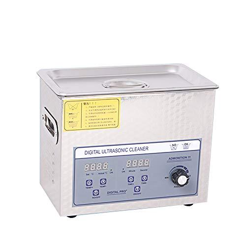 CGOLDENWALL PS-20AL Digitaler Ultraschall-Reiniger, Elektronische Leiterplatte, Ultraschall-Reinigungsmaschine, Metall, Ultraschallreiniger (Power verstellbar)