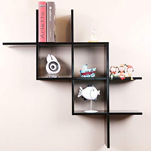 Wand-boekenkast ZWJ plank aan de muur gemonteerde drijvende planken voor display-opslag-decoratie-installatie in de woonkamer-keuken slaapkamer-kantoor 03.29