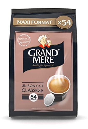 avis café dosette professionnel Pod compatible Grand Mère Café 54 Classic Senseo®