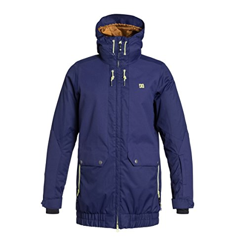 DC Shoes Womens Shoes Riji - Snowboard Jacket - Women - L - Blue Patriot Blue L